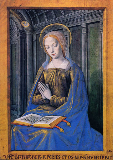 Annunciation book of hours